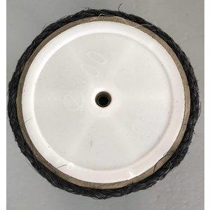 RHRQuality Sisal pole 40x12 M8 BLACKLINE