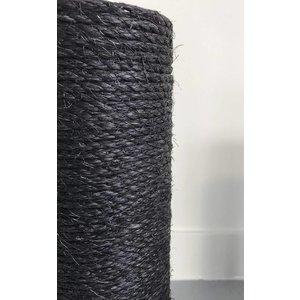 RHRQuality Sisal pole 50x12 M8 BLACKLINE