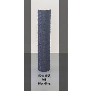 RHRQuality Sisalpole 50x15Ø M8 BLACKLINE