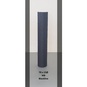RHRQuality Sisalpole 70x15Ø M8 BLACKLINE