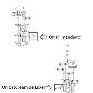 RHRQuality Cushion - Playhome Catdream/Kilimandjaro 50x35 Light Grey