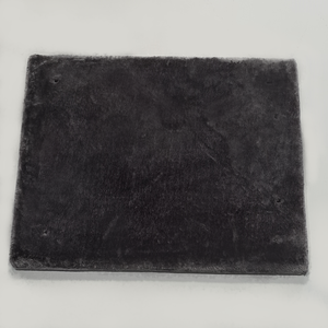 RHRQuality Square Middle Plate Corner Coon 60x50 Dark Grey
