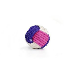 Beeztees Knotted Sisalball (With Catnip!)