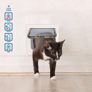 DUVO+ Cat Door Medium 19cm x 19cm