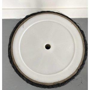 RHRQuality Sisal pole 30x20Ø M10 Blackline (1 Hole)