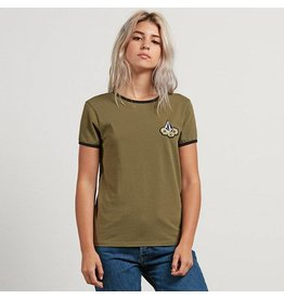 Volcom Volcom Keep On Goin Ringer T-Shirt