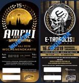 COMBITICKET - AMPHI 2019 + E-TROPOLIS 2019