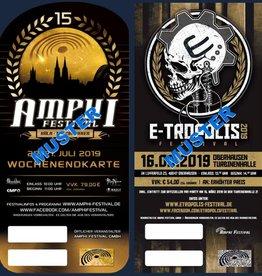 KOMBITICKET - AMPHI 2019 + E-TROPOLIS 2019