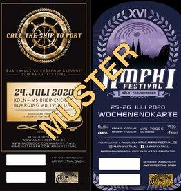 CTSTP + AMPHI TICKET - XVI. AMPHI FESTIVAL 2020
