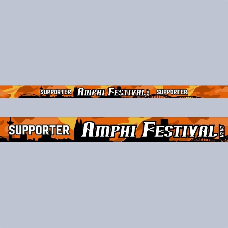 FESTIVAL RIBBON - AMPHI FESTIVAL 2020 SUPPORTER