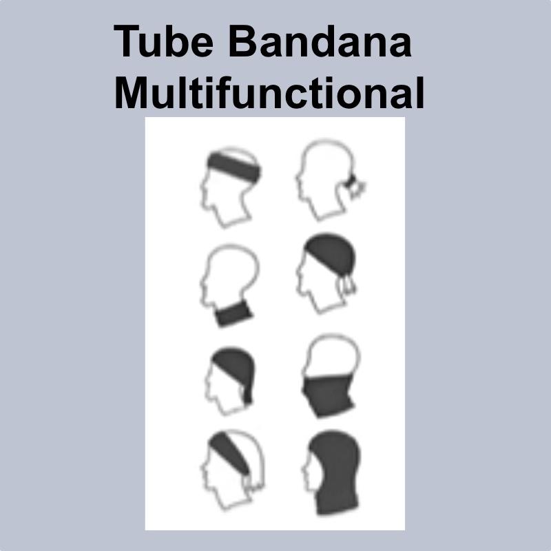 """TUBE BANDANA - AMPHI FESTIVAL  """"FCK CRN"""""""