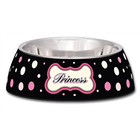 LOVING PETS DRINK / manger MILANO PRINCESS POLKADOT 200 ML -14X14X5 CM