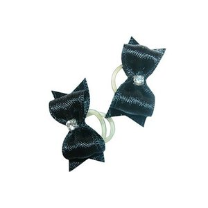 Show Tech Strikje Handgemaakt Small Zwart Diamant