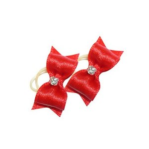 Show Tech Strikje Handgemaakt Small Rood Diamant