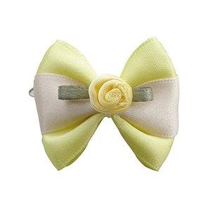 Bow Reis Gelb-Weiß