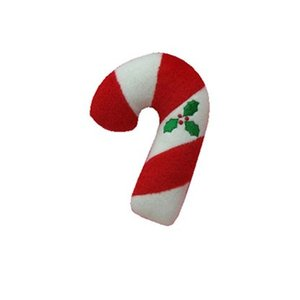 Chuckle City Chuckle City Xmas Plushen Candy Cane 13 cm Kerstspeelgoed Voor Honden