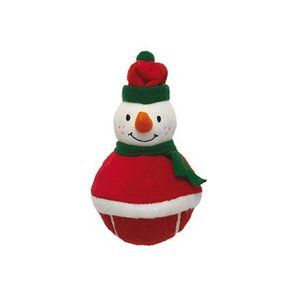 Griggles Griggles Xmas Griggles Chubby Chap Sneeuwman 14 cm Kerstspeelgoed Voor Honden