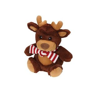 Griggles Griggles Xmas Snugglers Jolly Reindeer Christmas Toys for Dogs