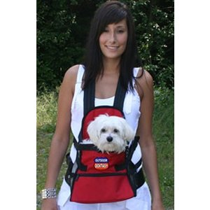 Doxtasy Hondendraagtas Front Dog Carriër rood