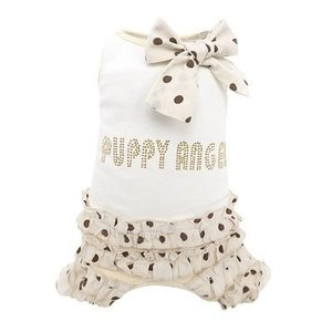 Puppy Angel Lovely frilled overall