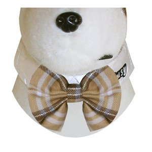 Doxtasy Bow Tie White Stripes
