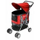 Deluxe Pet Stroller  ROOD