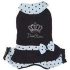 Puppy Angel Diva Glam Dressy Overall, pink