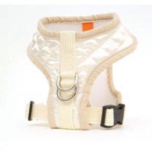 Puppy Angel Puppy Angel Diva broach Soft harness set Ivory