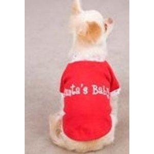 Casual Canine Santa `s Baby