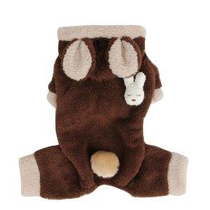 Puppia Puppia Fluffy Bunny Brown
