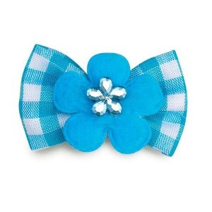 Aria Bow tie with blue badge
