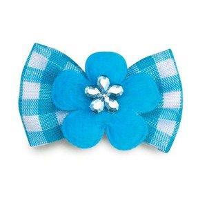 Aria Fliege mit blauen Abzeichen