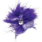 Aria Aria Feather Dog Bows