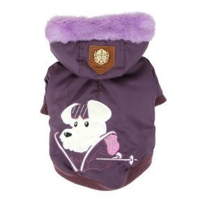 Puppia puppia alpine skiing coat purple