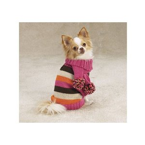 Zack & Zoë Zack & Zoe Multi-Bright Sweater met Sjaal