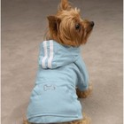 Casual Canine Casual Canine Bling Bone Dog Hoodie Pink