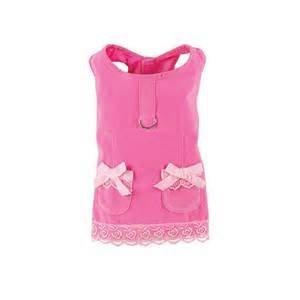 Velvet dress pink
