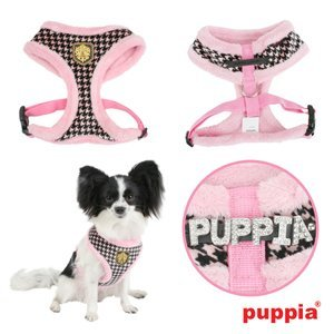 Puppia Downtown Harness Pink