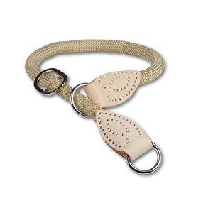 Animal Gear Round Rope Natur spiegelt Collar 120x10cm