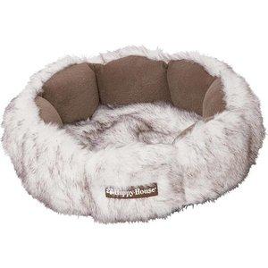 Happy House Basket Fur White
