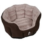 YAP FABRIANO DOG BASKET OVAL 46X40X21 CM
