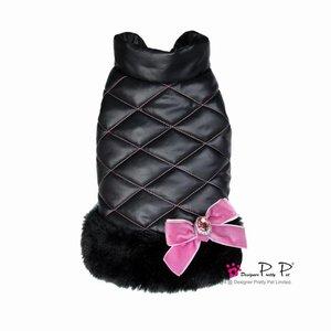 Pretty Pet Pretty Pet Metallic Jacket Black
