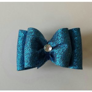 Crystal Snowdancers Bow with hairpin