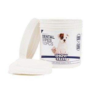 Show Tech Zeige Tech Dental Hygiene Wipes 100 Stück Produkt für Zahnpflege für Hunde