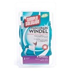 SIMPLE SOLUTION EINFACHE LÖSUNG WASHABLE WINDEL XS 25-35 CM