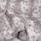 Susan Lanci Design Susan Lanci Deken Platinum Snow Leopard L 100X125CM