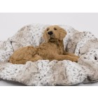 Susan Lanci Design Susan Lanci Deken Soft Snow Leopard L 100X125CM