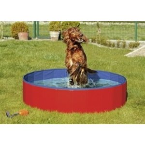 Karlie KARLIE DOGGY DOG SWIMMING POOL RED / BLUE 160 X 30 CM