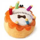 House of Paws HOUSE OF PFOTEN PLÜSCH BIRTHDAY CAKE 8X8X7 CM