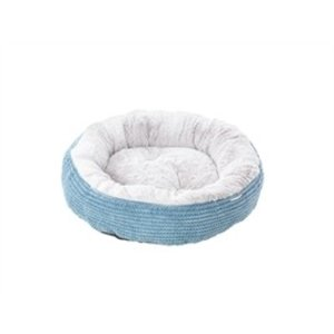 House of Paws HOUSE OF PAWS KATTENMAND DONUT TWIST CORD BLAUW 50X50X16 CM
